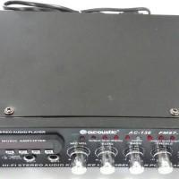 Acoustic AC-136 Karaoke Reverberation Power Amplifier AC DC USB SD MMC
