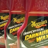 MEGUIARS DEEP CRYSTAL CARNAUBA WAX 16 OZ