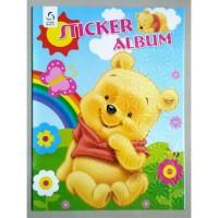 Jual Sticker Album,Album Stiker Anak Karakter Winne The Pooh Murah