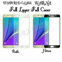 Tempered Glass Samsung Galaxy J5 Prime /J5Prime/ On5 Full Layar Warna
