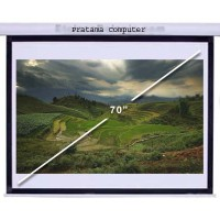 """70"""" Screen Projector Motorized (HQM70) / Layar Project Limited"""