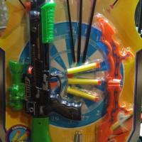 harga Mainan Anak Pistol Panah Set - Crossbow - Tembakan - Shooter promo 518 Tokopedia.com