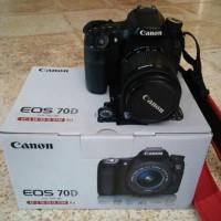 Promo Akhir tahun Camera Canon DSLR Eos 70D + kit Lensa 18-55mm New