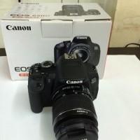 Promo Akhir tahun Camera Canon DSLR Eos 650D + kit Lensa 18-55mm New