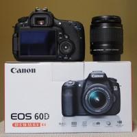 Promo Akhir tahun Camera Canon DSLR Eos 60D + kit Lensa 18-55mm New