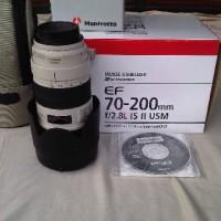 Lensa 70-200mm f.2.8 l IS USM II