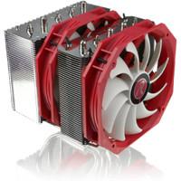 Raijintek Tisis - Top High-End CPU Cooler With Dual 14cm Slim Fan -