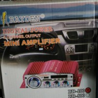 booster digital power rayden RD100 HM