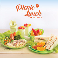 Sendok Tupperware - Picnic Lunch Set of 4 - BEST SELLER