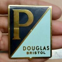 Badge Vespa DOUGLAS BRISTOL Emblem Vespa Classic Logo P/ Kuningan