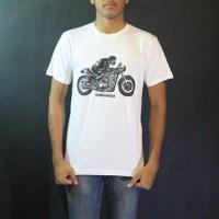 Baju Kaos Lengan Pendek Putih Oneninesix