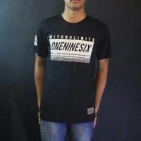 Baju Kaos Lengan Pendek Hitam Oneninesix