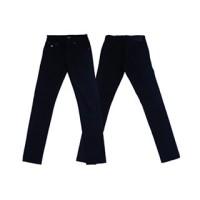 Bawahan Celana Panjang Jeans Biru Dongker Dimostore