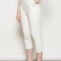 CELANA BAHAN WANITA SHOP HER AT JILL COMFY PANTS IN WHITE