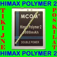 Baterai Himax Polymer 2 Mcom M Com Batrai Batre Battery Batere