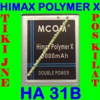 Baterai Himax Polymer X Ha31b Ha 31b Mcom M Com Batrai Batre Battery