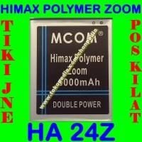 Baterai Himax Polymer Zoom Ha24z Ha 24z Mcom Batrai Batre Battery