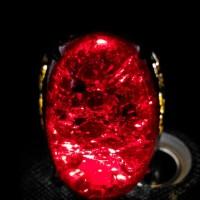 harga Cincin Batu Akik Pecah Seribu Merah Siam Big Size Hq Tokopedia.com