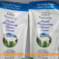 LEIVY DOUBLE MOIST SHOWER CREAM 250ML / SABUN CAIR SUSU DOMBA