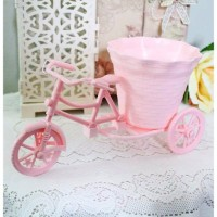 Rattan Bike bicycle cycle / sepeda vas bunga shabby chic B1-4