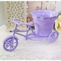 Rattan Bike bicycle cycle / sepeda vas bunga shabby chic B1-2
