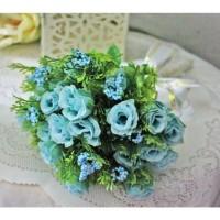 bunga plastik hias artificial handbouquet hand bouquet bouq shabby B