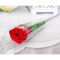 1 tangkai setangkai mawar rose bunga plastik artificial A1-6