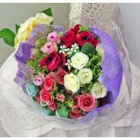 bunga plastik hias artificial handbouquet hand bouquet bouq shabby