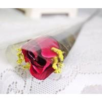 1 tangkai setangkai mawar rose bunga plastik artificial A1-7