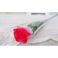 1 tangkai setangkai mawar rose bunga plastik artificial A1-4