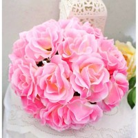 bola ball bunga artificial / flower flowers / bunga pastik hias hias