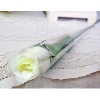1 tangkai setangkai mawar rose bunga plastik artificial A1-3
