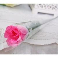 1 tangkai setangkai mawar rose bunga plastik artificial A1-2