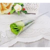 1 tangkai setangkai mawar rose bunga plastik artificial A1-1