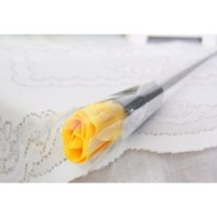1 tangkai setangkai mawar rose bunga plastik artificial A1-5