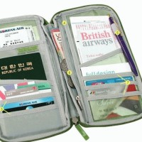 Card id Holder ( pasport wallet ) Dompet paspor