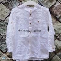 H&M kids white shirt (kemeja anak)