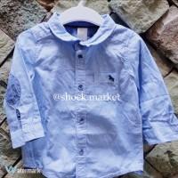H&M kids / boys blue shirt (kemeja anak)