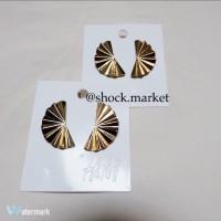 H&M gold earings (anting wanita)