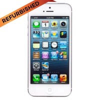 APPLE IPHONE 5 - 16GB WHITE - FREE TEMPERED GLASS + SOFTCASE