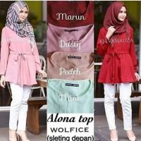 Atasan blouse alona ready