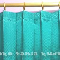 Jual gorden plisket 1 x 185 / gordyn / hordeng / tirai / korden /murah Murah