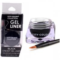 City Colors Gel Liner Black