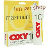 oxy10 oxy 10 acne pimple medication for stuborn acne 10g obat jerawat
