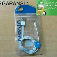 Jual Kabel Data CL 100 Lightning Iphone 5 6 Ipad Mini 100 cm Vivan Murah