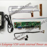 Universal Led Board Paket Exlaptop