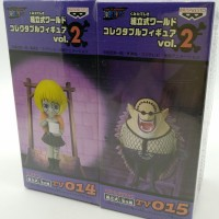 One Piece WCF TV Series vol.2 #14+15 Cindry & Doctor Hogback [Japan]