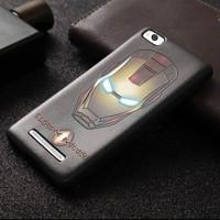 Jual Silicon Armor Casing MI4I/MI 4I/MI4C/MI4G Silicon 3d Marvel Cover Case Murah