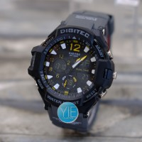 Jam Tangan Digitec DG 2094 Dual Time (DG-2094-T) - Abu