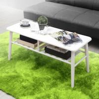 Liza Coffe Table (Misty) - Meja Sofa